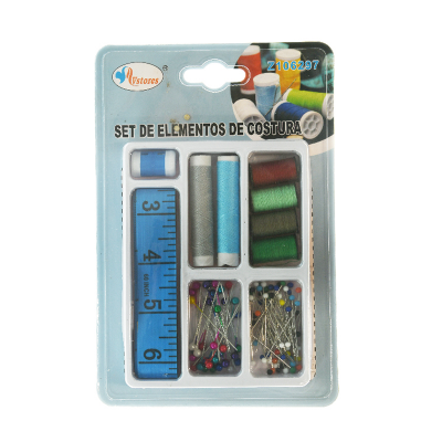 set de elementos de costura