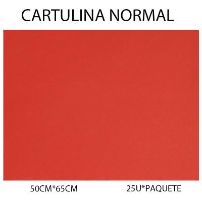 CARTULINA NORMAL 50CM*65CM...