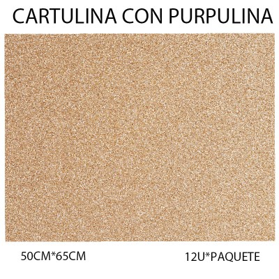 CARTULINA CON PURPULINA...