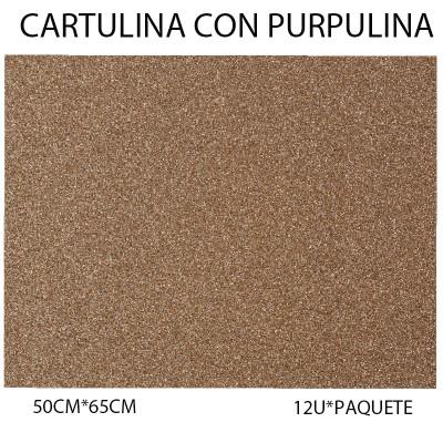 CARTULINA CON PURPULINA...