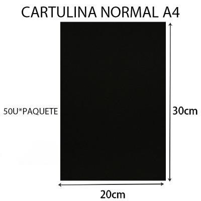 CARTULINA NORMAL 20CM*30CM...