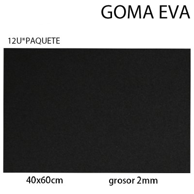 GOMA EVA NORMAL 40CM*60CM...