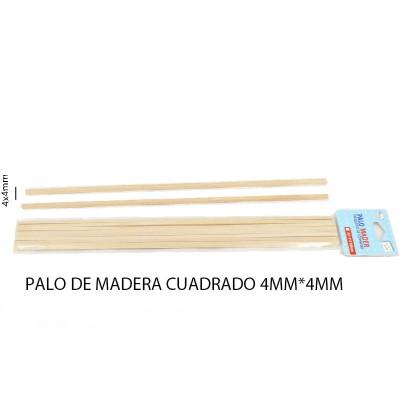 PALO DE MADERA CUADRADO...